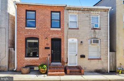 123 S Durham Street, Baltimore, MD 21231 - #: MDBA2011072
