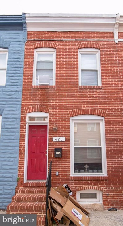 423 N Bradford Street, Baltimore, MD 21224 - #: MDBA2011290