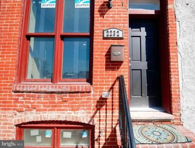 2232 Henneman Avenue, Baltimore, MD 21213 - #: MDBA2011454