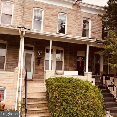 1603 N Warwick Avenue, Baltimore, MD 21216 - #: MDBA2011576