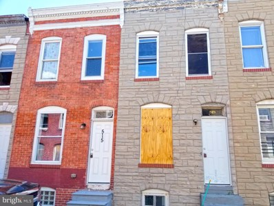 513 N Port Street, Baltimore, MD 21205 - #: MDBA2013188