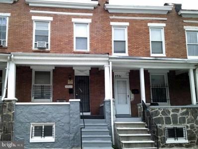 2731 Chase Street E, Baltimore, MD 21213 - #: MDBA2013464