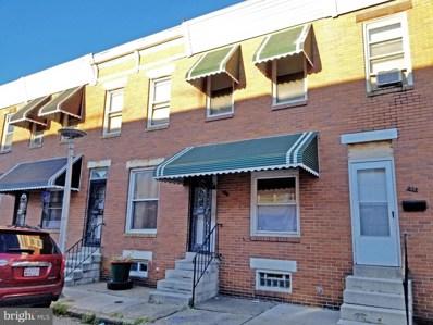 910 N Streeper Street, Baltimore, MD 21205 - #: MDBA2013550