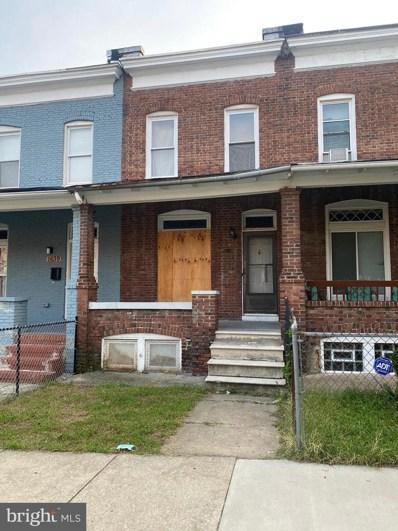 1637 Montpelier Street, Baltimore, MD 21218 - #: MDBA2013840