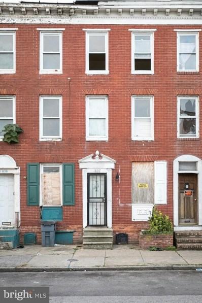 1837 McHenry, Baltimore, MD 21223 - #: MDBA2013956