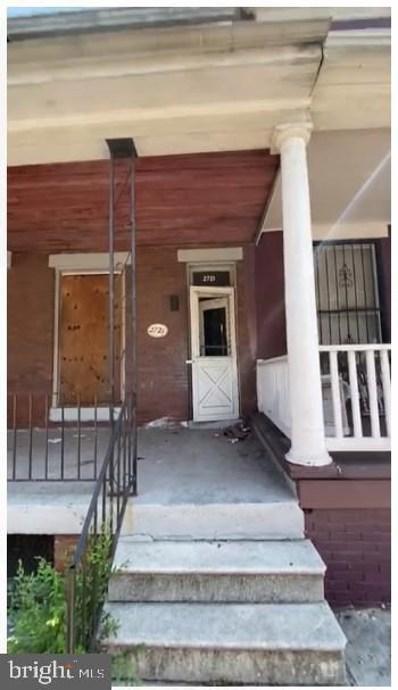 2721 W Lafayette Avenue, Baltimore, MD 21216 - #: MDBA2014030