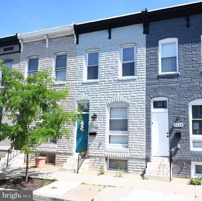 2426 Ashland Avenue, Baltimore, MD 21205 - #: MDBA2014222