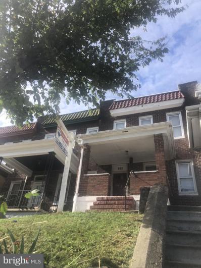 536 Hurley Avenue, Baltimore, MD 21223 - #: MDBA2015174