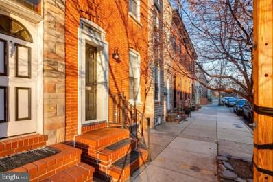 214 E Barney Street, Baltimore, MD 21230 - #: MDBA205892