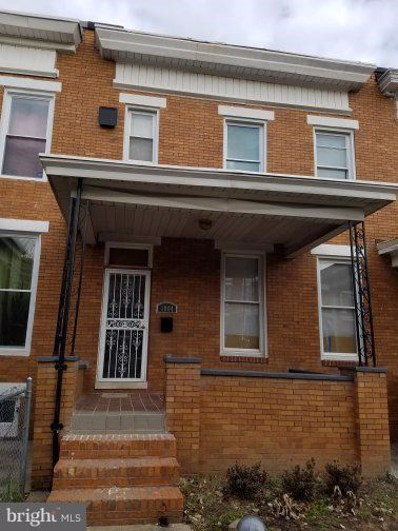 1804 E 32ND Street, Baltimore, MD 21218 - #: MDBA262572
