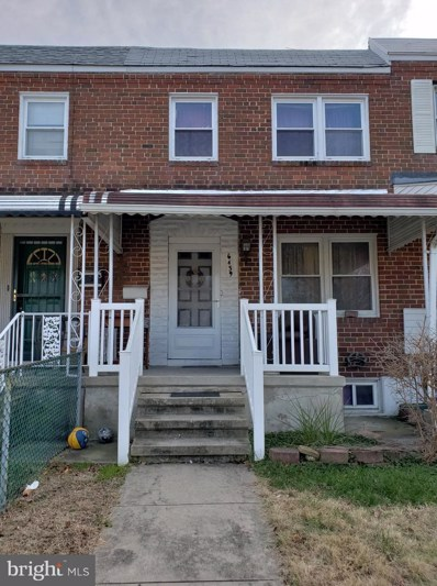 6439 Danville Avenue, Baltimore, MD 21224 - #: MDBA262608