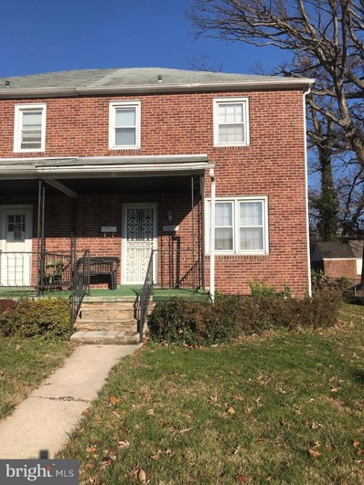3806 Echodale Avenue, Baltimore, MD 21206 - #: MDBA262632