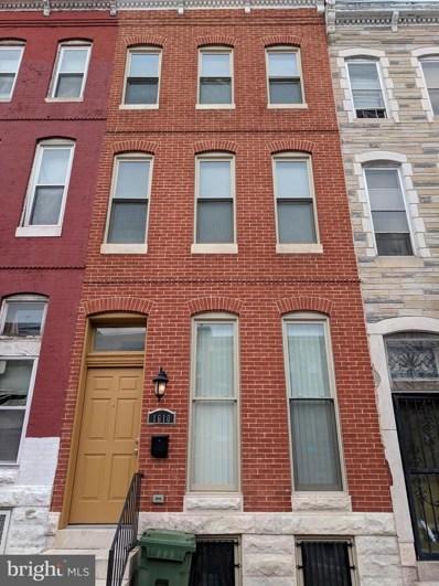 1610 E Biddle Street, Baltimore, MD 21213 - #: MDBA262756