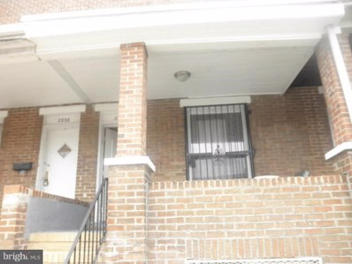 2336 Lauretta Avenue, Baltimore, MD 21223 - MLS#: MDBA263462