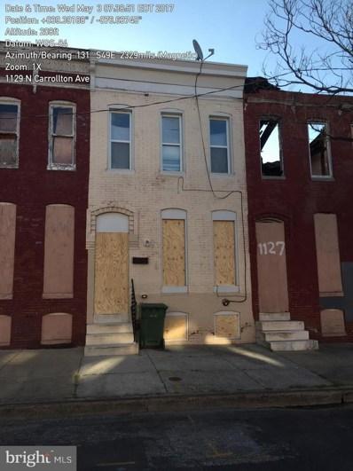 1129 N Carrollton Avenue, Baltimore, MD 21217 - #: MDBA271946