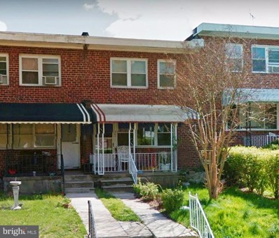 4207 Bonner Road, Baltimore, MD 21216 - #: MDBA278264