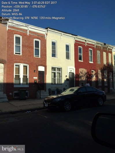 1132 N Carrollton Avenue, Baltimore, MD 21217 - #: MDBA279074