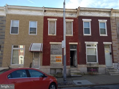 2563 W Lombard Street, Baltimore, MD 21223 - MLS#: MDBA288432