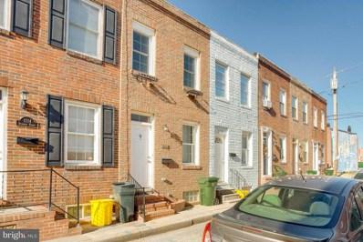 1112 Sterrett Street, Baltimore, MD 21230 - #: MDBA288434