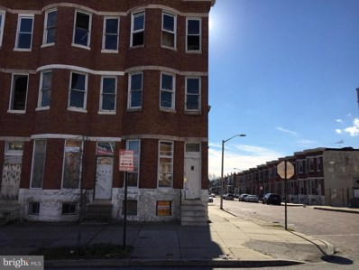 1925 W North Avenue, Baltimore, MD 21217 - #: MDBA288436