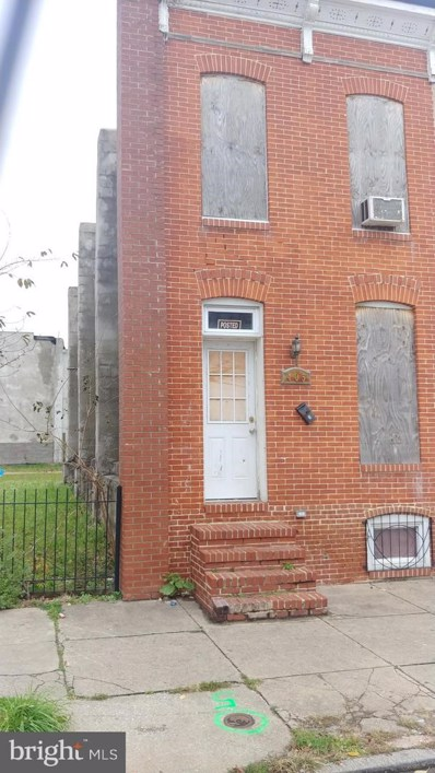 405 S Payson Street, Baltimore, MD 21223 - #: MDBA290350