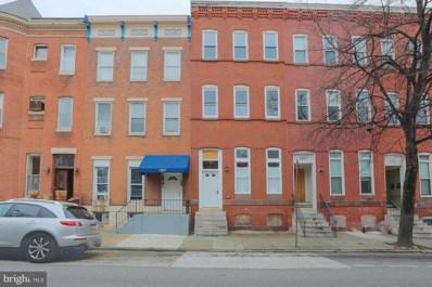 1929 McCulloh Street, Baltimore, MD 21217 - #: MDBA290504