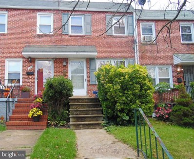 379 Marydell Road, Baltimore, MD 21229 - #: MDBA290510