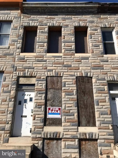 2536 Frederick Avenue, Baltimore, MD 21223 - MLS#: MDBA302462