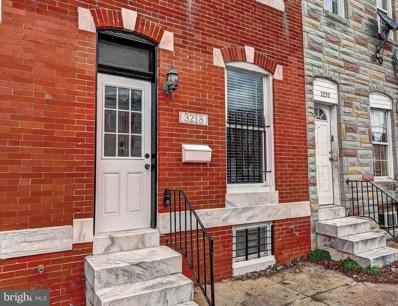 3218 E Fairmount Avenue, Baltimore, MD 21224 - #: MDBA302592