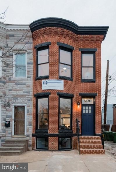 800 Wellington Street, Baltimore, MD 21211 - MLS#: MDBA302732