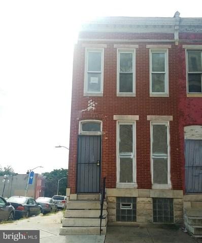 2101 W Baltimore Street, Baltimore, MD 21223 - #: MDBA302832