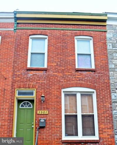 3501 Leverton Avenue, Baltimore, MD 21224 - #: MDBA302980
