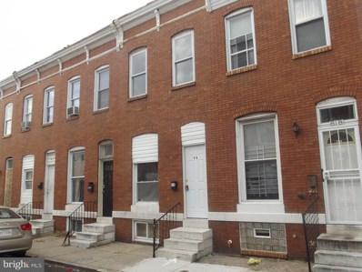 816 N Streeper Street, Baltimore, MD 21205 - #: MDBA303034