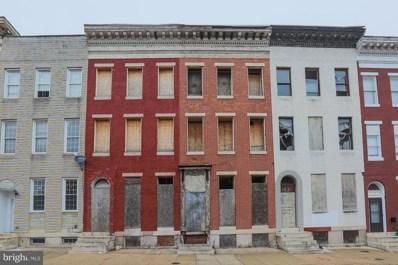 1012 W Lanvale Street, Baltimore, MD 21217 - #: MDBA303190
