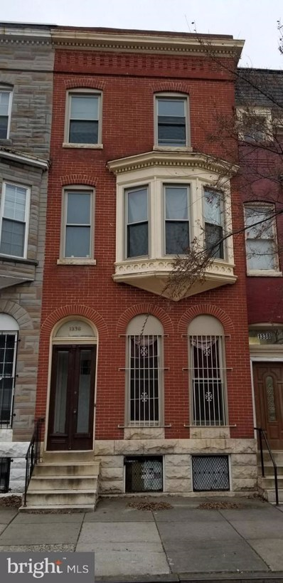 1336 Druid Hill Avenue, Baltimore, MD 21217 - #: MDBA303210