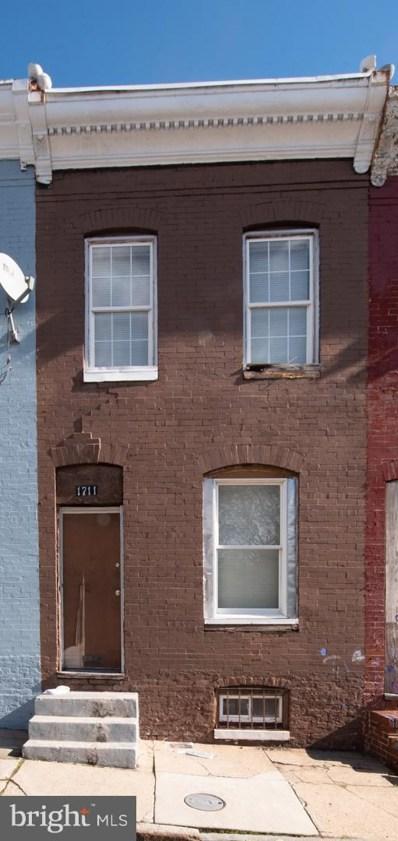 1711 N Durham Street, Baltimore, MD 21213 - #: MDBA303254