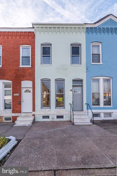 413 W 24TH Street, Baltimore, MD 21211 - #: MDBA303378