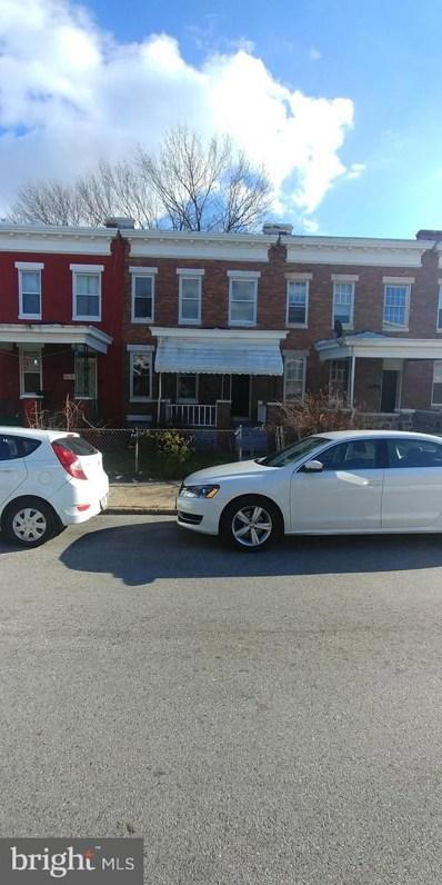 707 Linnard Street, Baltimore, MD 21229 - #: MDBA303406