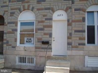 1673 N Milton Avenue, Baltimore, MD 21213 - #: MDBA303492