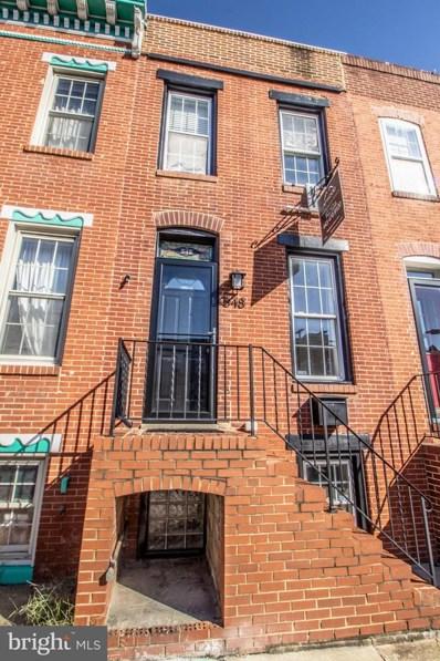 548 E Fort Avenue, Baltimore, MD 21230 - #: MDBA303550