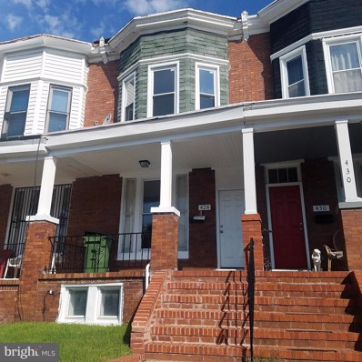 428 E 28TH Street, Baltimore, MD 21218 - #: MDBA303856