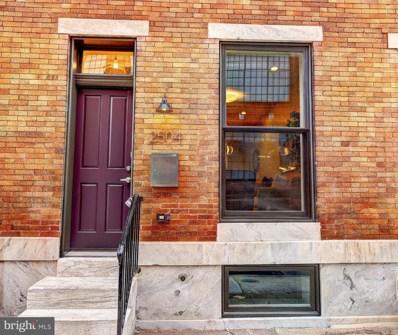 2504 E Eager Street, Baltimore, MD 21205 - MLS#: MDBA303912