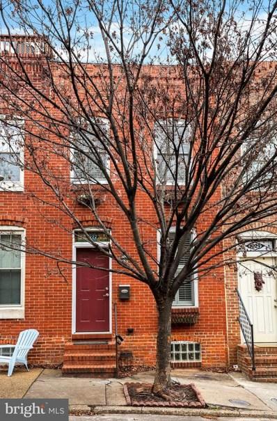 1027 S Bouldin Street, Baltimore, MD 21224 - #: MDBA303948