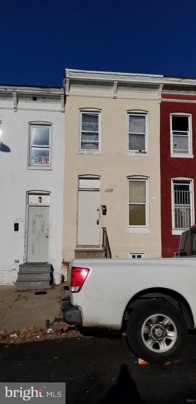 1558 Clifton Avenue, Baltimore, MD 21217 - #: MDBA304010