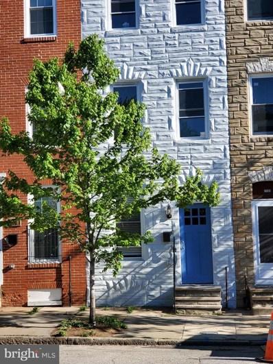 1104 W Lombard Street, Baltimore, MD 21223 - #: MDBA304128