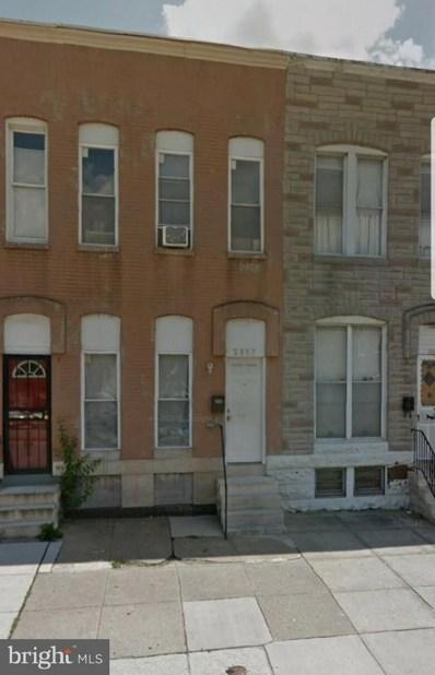 2137 Wilkens Avenue, Baltimore, MD 21223 - #: MDBA304170