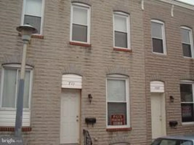711 N Port Street, Baltimore, MD 21205 - #: MDBA304522