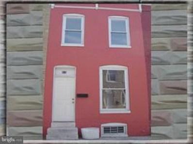 815 N Port Street, Baltimore, MD 21205 - #: MDBA304536