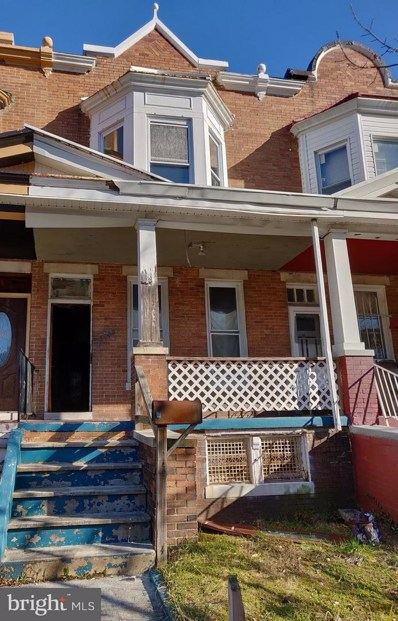 3943 Greenmount Avenue, Baltimore, MD 21218 - #: MDBA304950