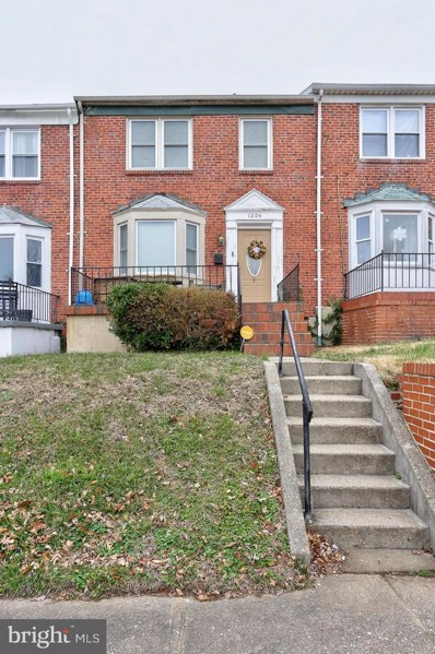 1204 Evesham Avenue, Baltimore, MD 21239 - #: MDBA304980